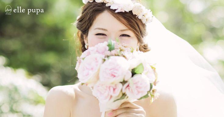 elle pupa(エル ピューパ)は、京都・大阪・神戸を中心に、全国で結婚式撮影、前撮り、後撮り、ロケーション撮影を行っているウエディングフォトアトリエです。写真を通して、そっと栞のようにあなたの物語によりそっていけたらうれしいです。