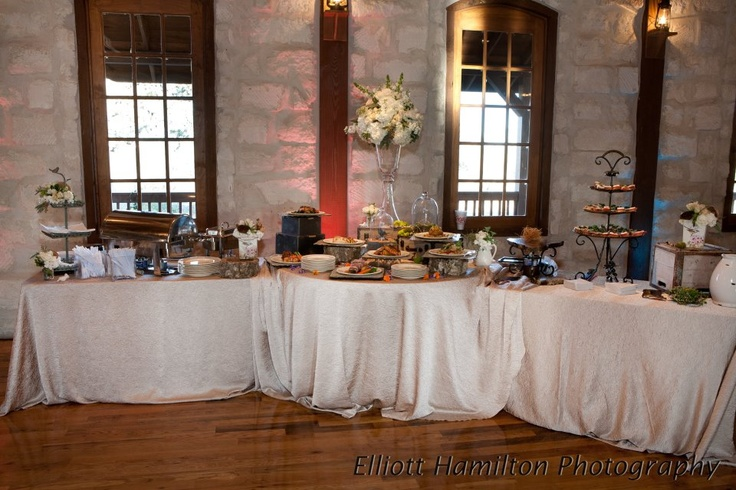 Spice Up A Basic Banquet Setup With Two Rectangle Tables