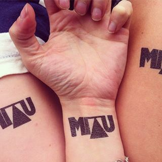 MIAU temporary tattoos. And summer, of course.