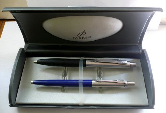 Parker lot of 2 Ballpoint Collectible pens with Heavy by bluestyle