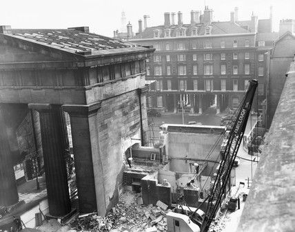 Destruction of Euston Arch