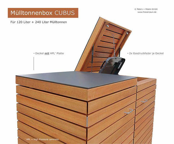 die besten 25 m lltonnenverkleidung ideen auf pinterest. Black Bedroom Furniture Sets. Home Design Ideas