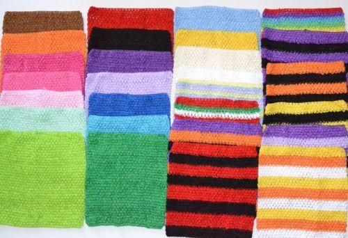 Extra Large Girl Crochet Tutu Tops Tube Tops 10'' x 9'' | eBay