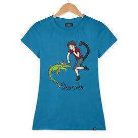 "Scorpius among the stars - series of T-shirts ""Polaris""  Pagina Facebook: https://www.facebook.com/Stampeoroscopo/"