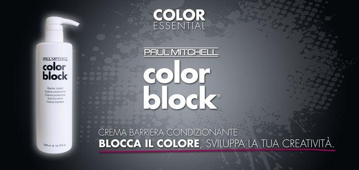 Blocca il colore, sviluppa la tua creatività grazie a COLOR BLOCK, la crema barriera condizionante