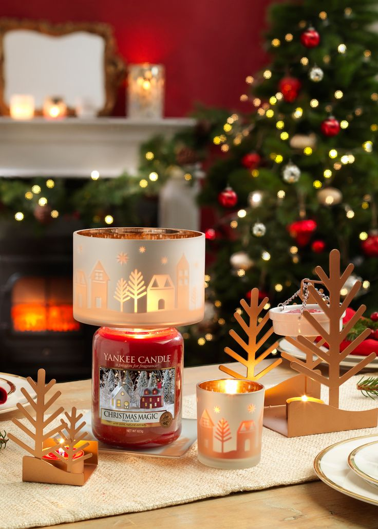 Collection Winter Village Yankee candle christmas