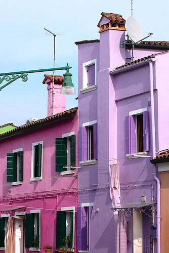 Beautiful places, beautiful spaces...Burano, Venice, Italy