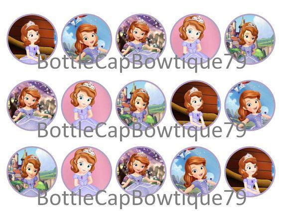 Bottle Cap Images - Sofia The First - Sofia Bottle Cap Images - Caps $0.99