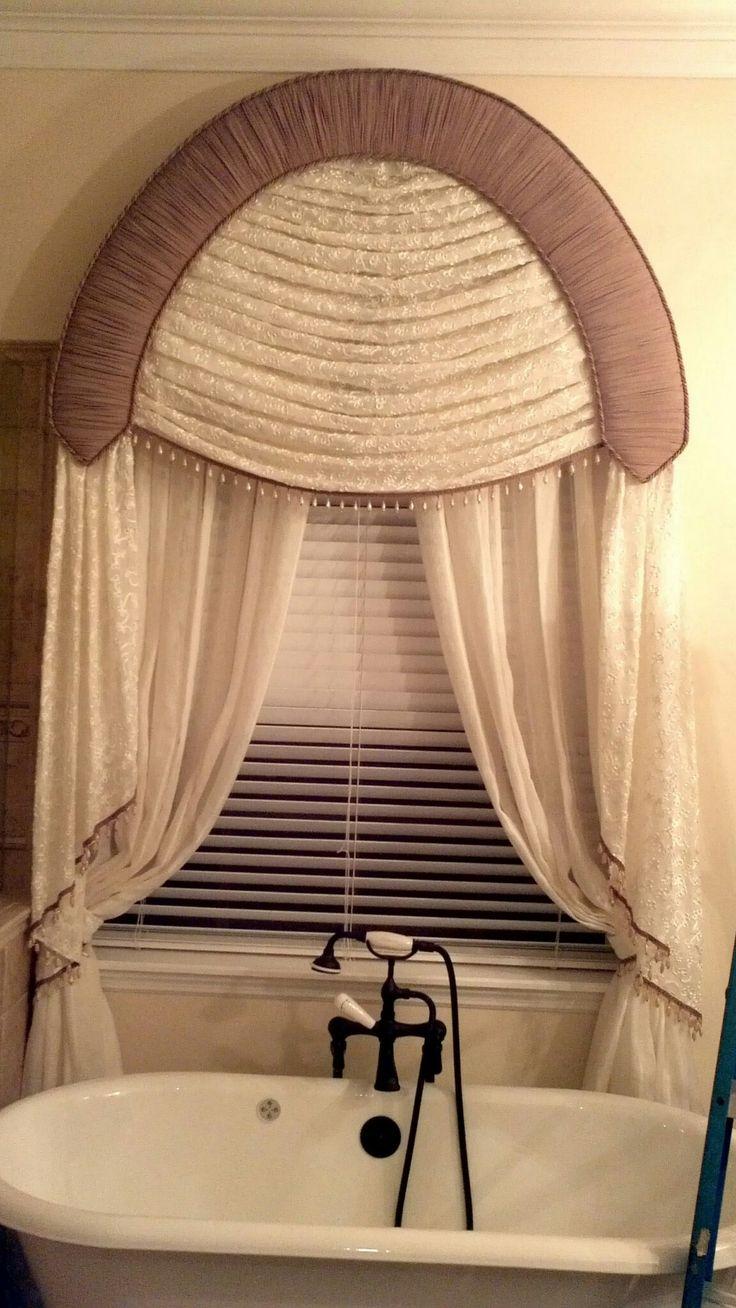Gathered curtains - Valance Curtains