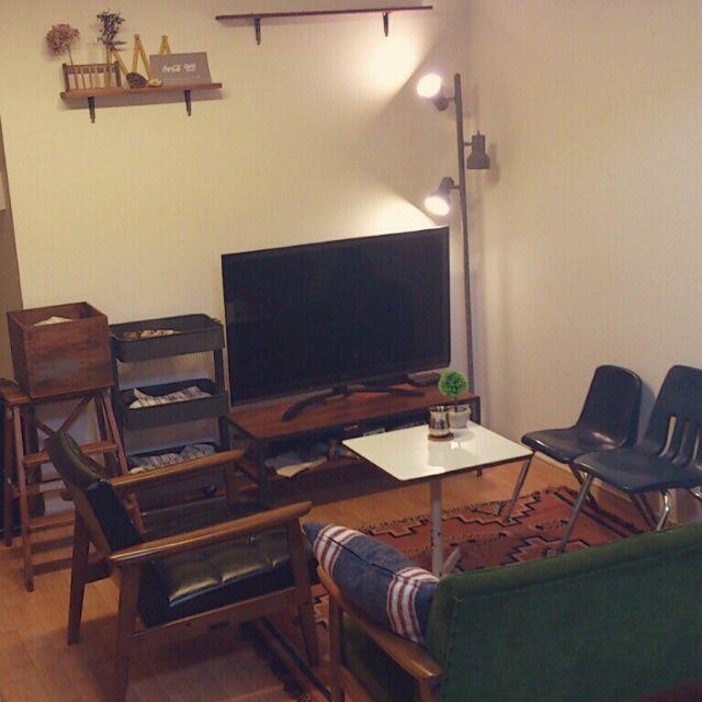 賃貸/おうちカフェ/カリモク60/IKEA/DIY/一人暮らし…などのインテリア実例 - 2013-11-17 20:07:46 | RoomClip(ルームクリップ)