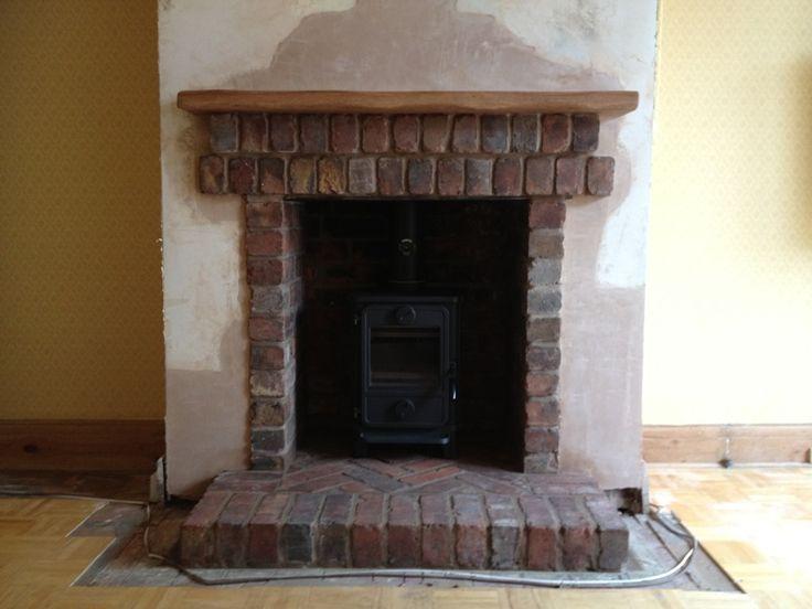 brick fire place - Google Search   lounge   Pinterest   Hearth ...