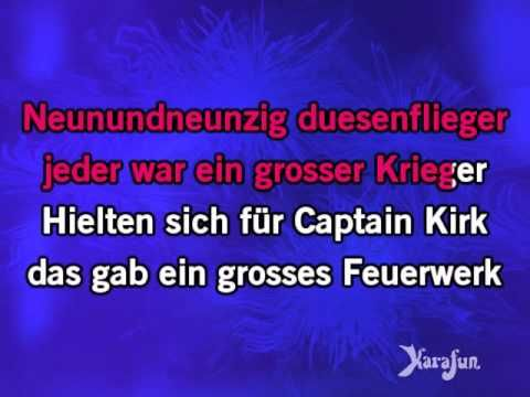 Download MP3: http://www.karaoke-version.com/mp3-backingtrack/nena/99-luftballons.html Sing Online: http://www.karafun.com/karaoke/nena/99-luftballons/ * Thi...