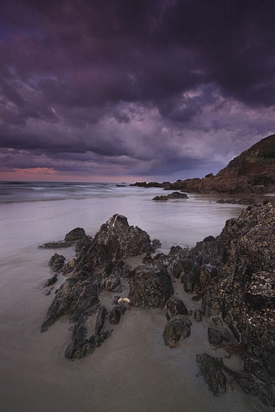 Stills Photo Tours, David Still - New Zealand Tour, Squall blown onto the coast