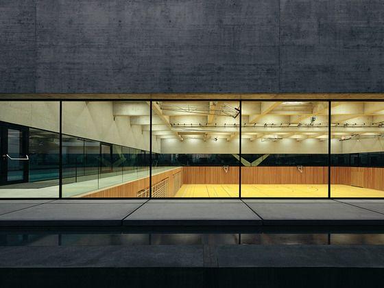 Double Gymnasium in Chiasso Baserga Mozzetti Architetti