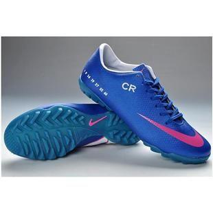 Nike Mercurial Vapor IX CR7 TF Cleats Royal Blue Deep Pink  3130026
