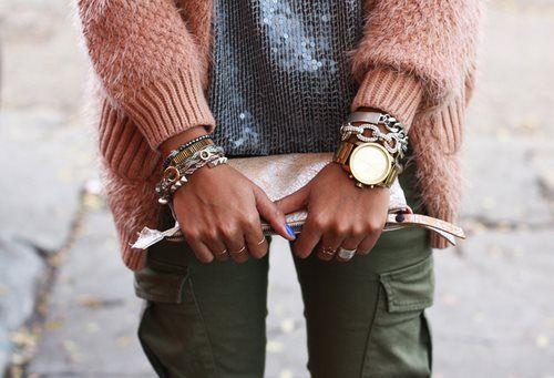 watch#pochette#fut#bracelets <3