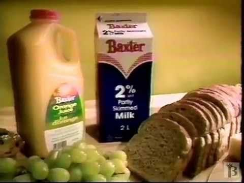 Baxter Margarine Commercial 1994