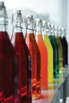 Chr. Hansen: Nature is able to provide nice and bright shades of purple, red, orange, and yellow needed to color drinks.