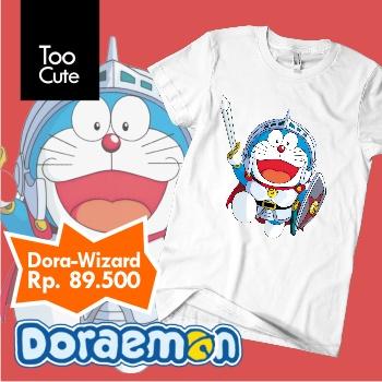 Kaos Doraemon - Satria
