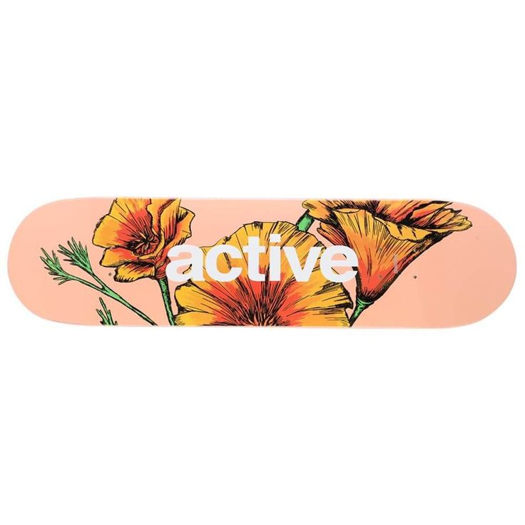Active Poppy Pink Deck Assorted | Active R/S | Skateboards | Skate