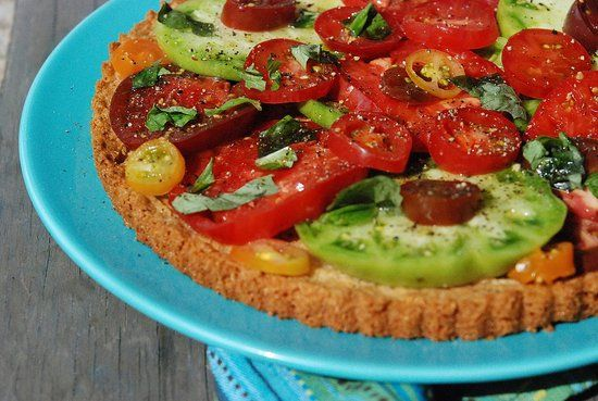 Tomato Tart With Parmesan-Rosemary Crust Recipes — Dishmaps