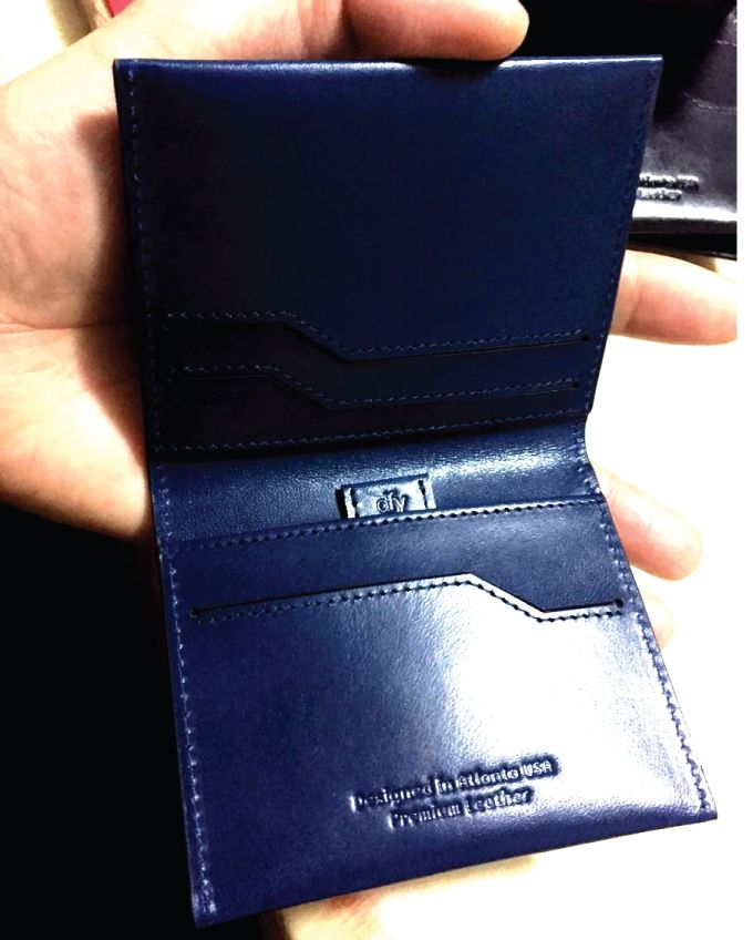 x1 dfy360 RFID Blocking #Wallet. Made with Premium Leather. Available in Black, Blue, Tan, Brown - $49 Retail