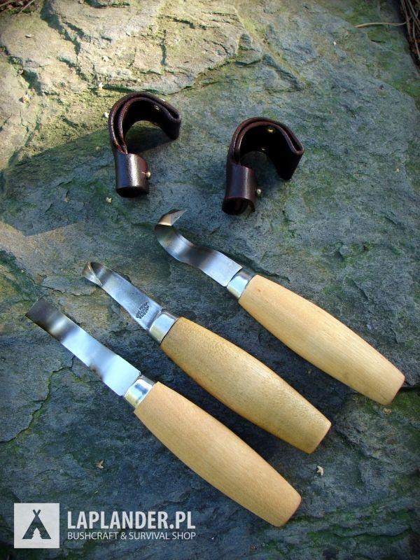 Noże do rzeźbienie Mora Wood Carving i Mora Erik Frost. nóż łyżkowy nóż do rzeźbienia mora wood carving mora of sweden mora erik frosts