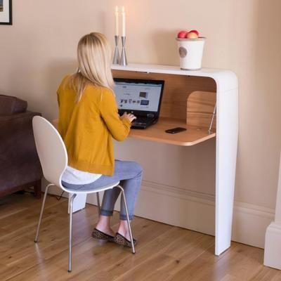 Contemporary Workstation in White and Oak (Desk) | photo 5