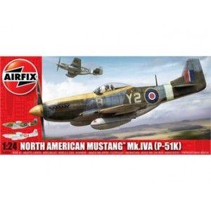 Airfix - North American Mustang P-51K/RF Mustang - 1:24