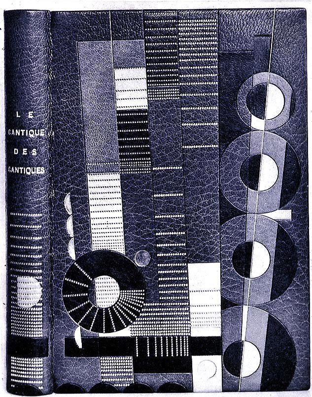 """""""Le Cantique des Cantiques"""". Reliure de Pierre Legrain, 1925."""