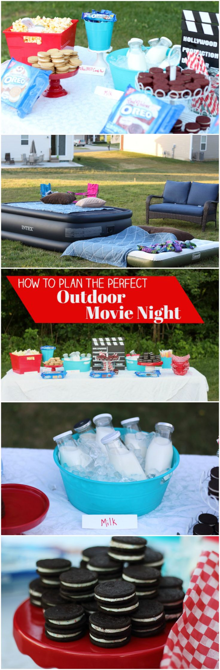We love to hang out outside and have outdoor movie nights. Here are some of my tips to host the perfect outdoor movie night with @oreo  Cookies and MILKA OREO Chocolate Candy Bars. You can find them at your favorite @krogerco grocery store!  #EnterTheWonderVault #ad