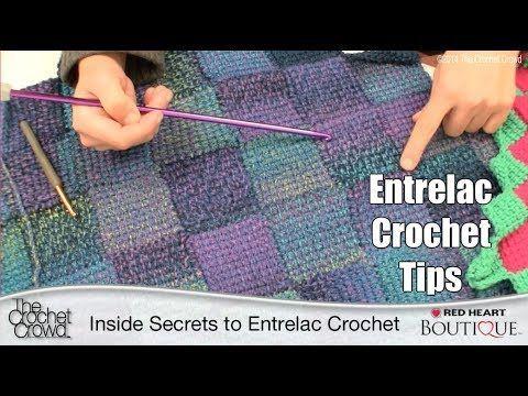 21 besten Entrelac Crochet Bilder auf Pinterest | Häkeldecken ...