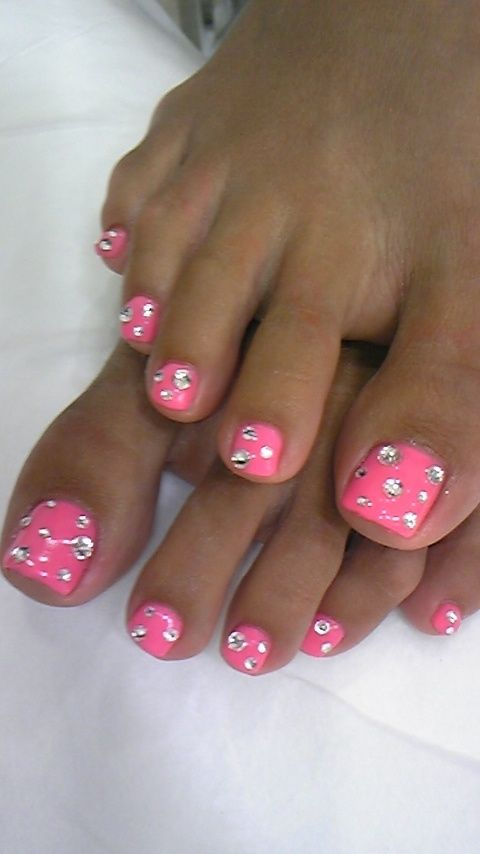 DIY Summer Toes! Cute!