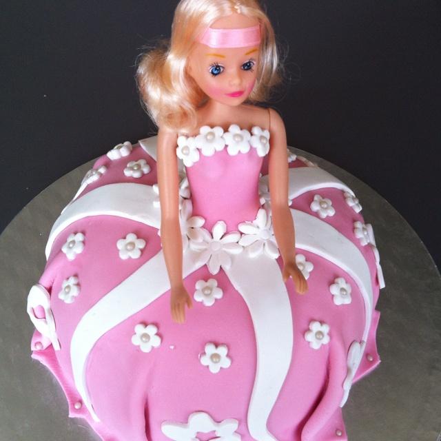 Barbie-prinses taart