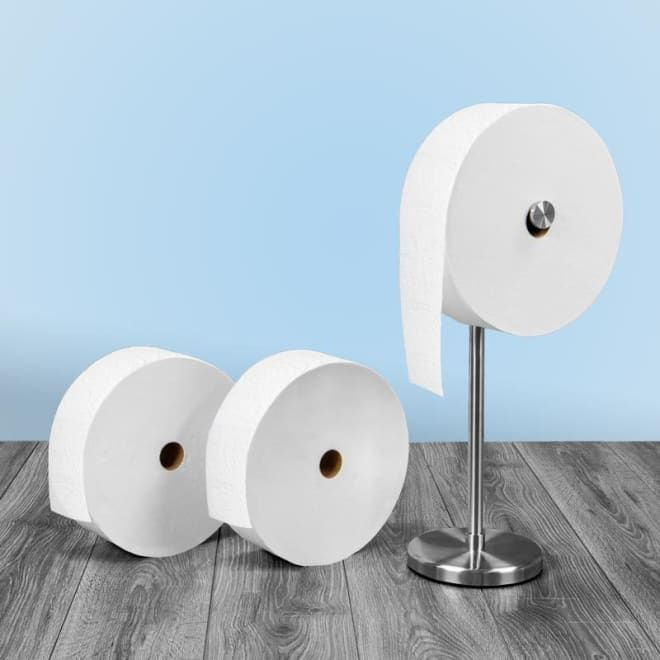 Charmin Has Made A Huge Three Pound Toilet Paper Roll Because Its