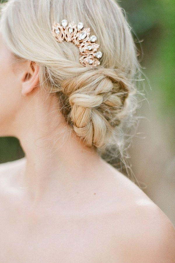 Bridal Hairstyle With Rose : 249 best wedding hair and makeup images on pinterest