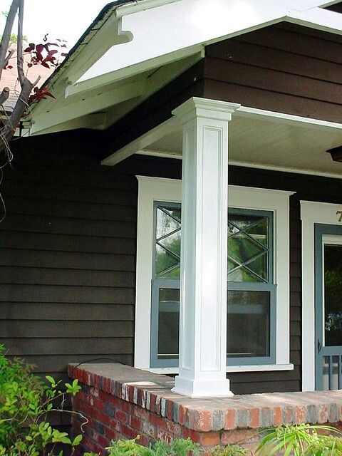 New Porch Column Idea Exterior Remodeling And