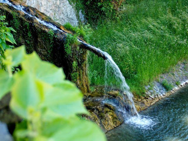 Bojnice castle, Slovakia. Little waterfall ♥ slovakia nature