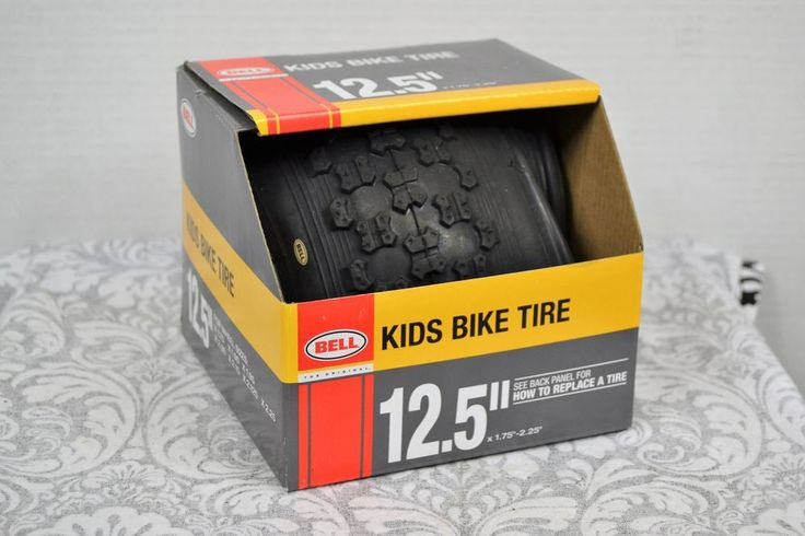 "BELL SPORTS INC - 12.5-Inch Black BMX Bike Tire 12.5""x1.75""-2.25"" #Bell"