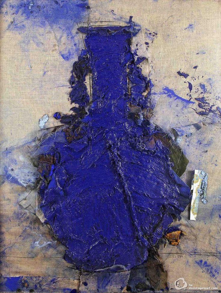 Vasija china azul de Manolo Valdés. OpenArt. Galerías de arte. Compra y venta de obra de arte.