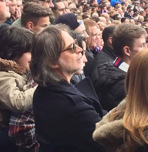 Robert Carlyle in the Rangers