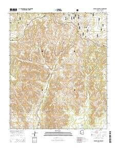 ~ Red Top Mountain AZ topo map, 1:24000 scale, 7.5 X 7.5 Minute, Current, 2014