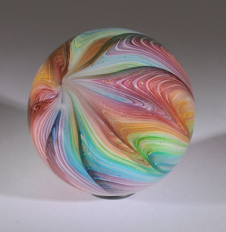 "Wald Glass Hand Made Art Marble Northern Beauty Aventurine Lutz 2 02"" | eBay"