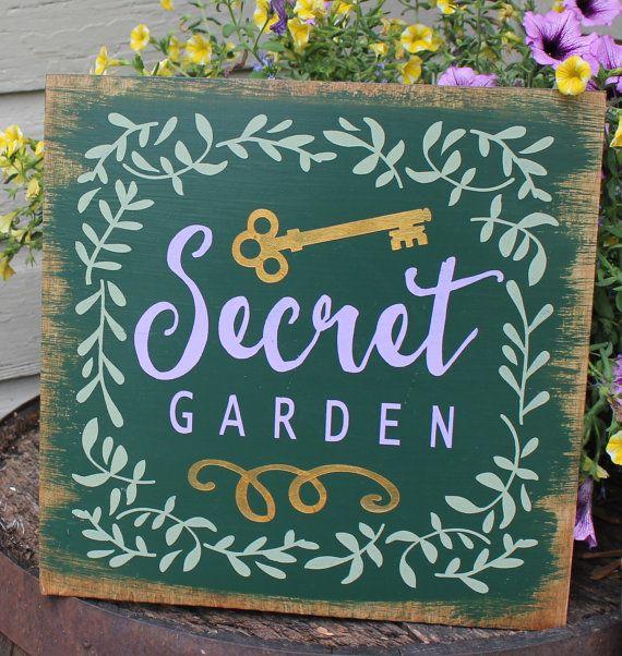 secret garden signs, secret garden signs - garden inspiration, Design ideen