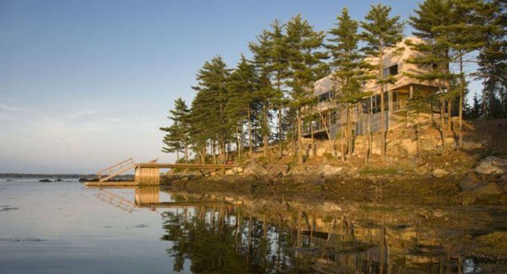 Bridge House, Mackay-Lyons Sweetapple Architects. Fotografía: Greg Richardson.