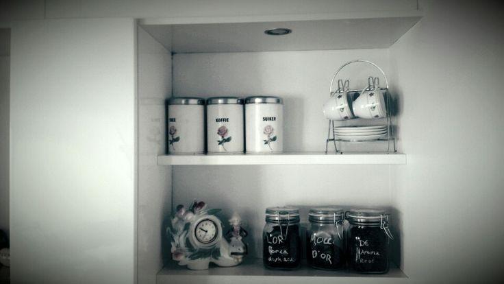Kitchen, vintage stuff from granny
