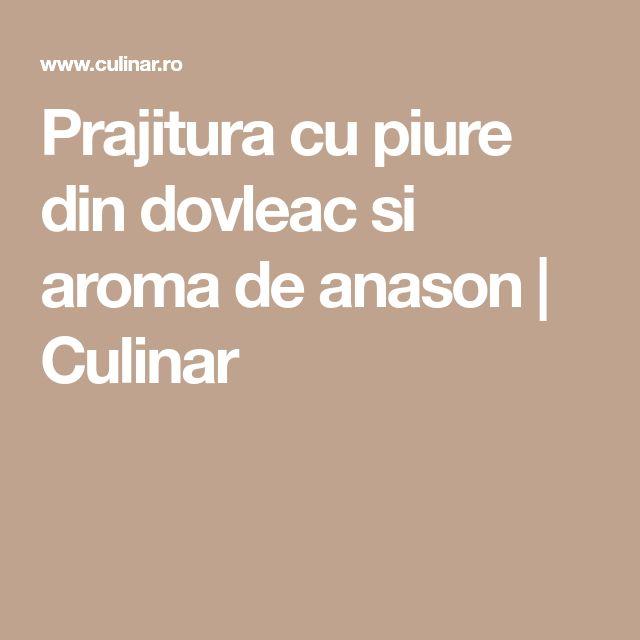 Prajitura cu piure din dovleac si aroma de anason | Culinar