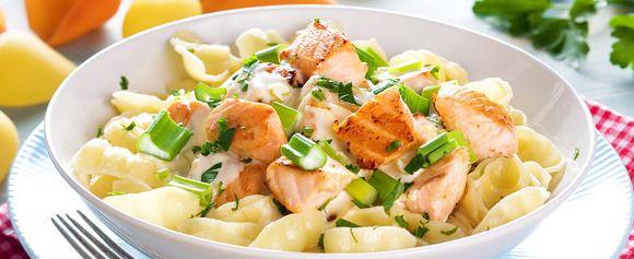 DAGENS RETT: Pasta og laks gjør susen i dag - Aperitif.no