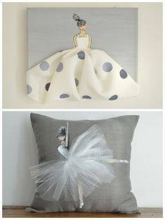 Cute for a fashion themed room must try go make one :)
