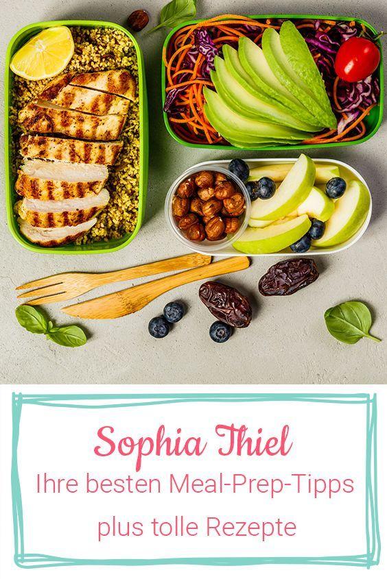 Sophia Thiels Rezepte: Mit Meal Prep zum Fitness- und Abnehmerfolg